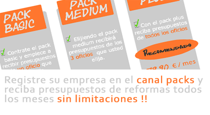 registrar empresas canal packs